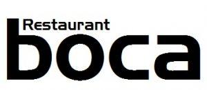 RESTAURANT BOCA - logo